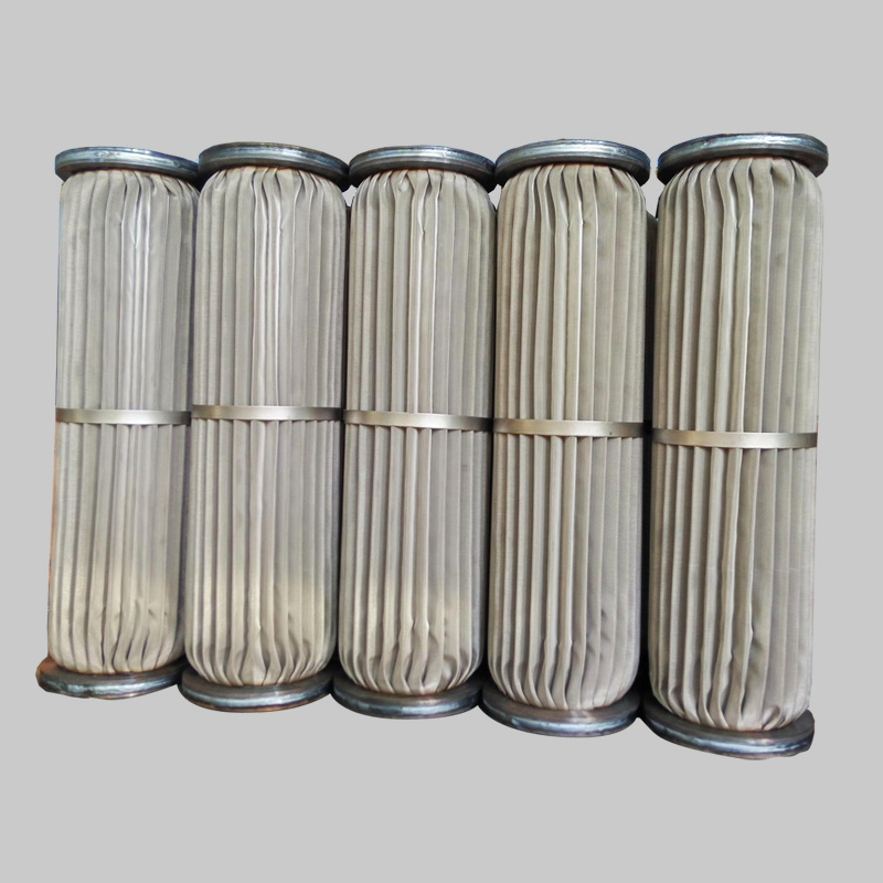 YTZSS Series — SS Wire Mesh Pleated Filter Cartridge